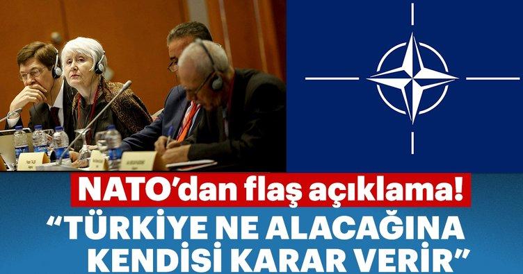 Türkiye ne alacağıyla ilgili kararı kendisi verir