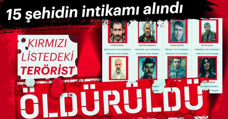 Son dakika haberi: Kırmızı listedeki aranan terörist öldürüldü - Sefer Açar etkisiz hale getirildi