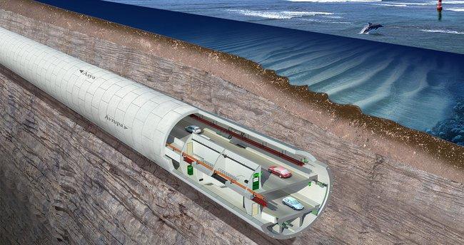 Asrın projesi Avrasya Tünelinde önemli gelişme