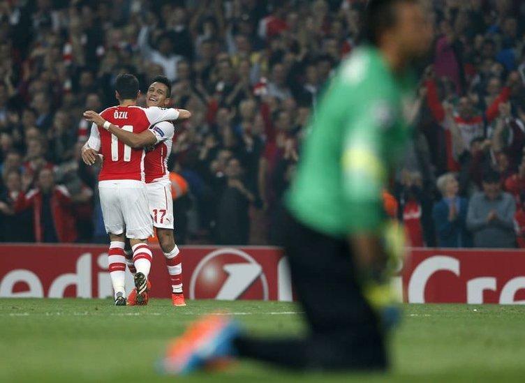 Arsenal - Galatasaray maçı sonrası sosyal medya
