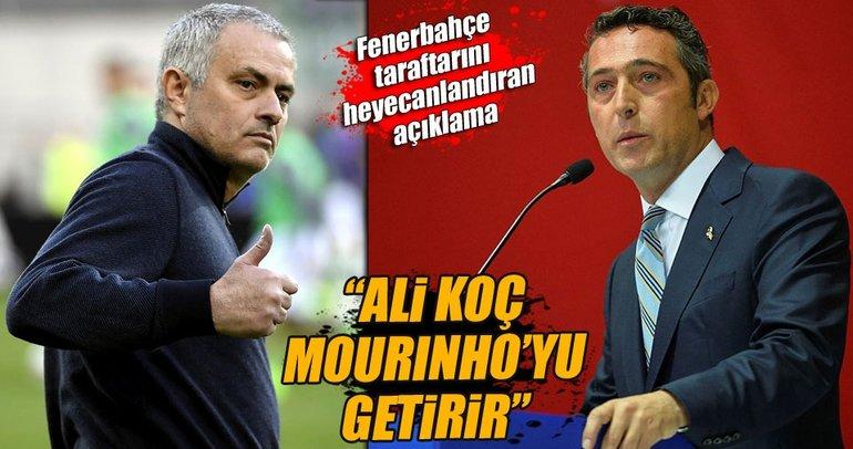 Ali Koç, Mourinho'yu getirir