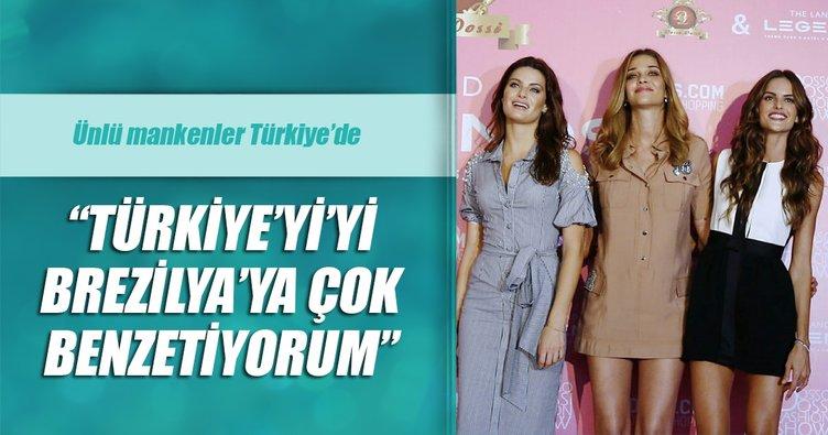Ana Beatriz: Türkiye'yi Brezilya'ya çok benzetiyorum