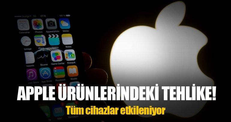 iPhone'lar ve Mac'ler Spectre ve Meltdown'dan etkileniyor