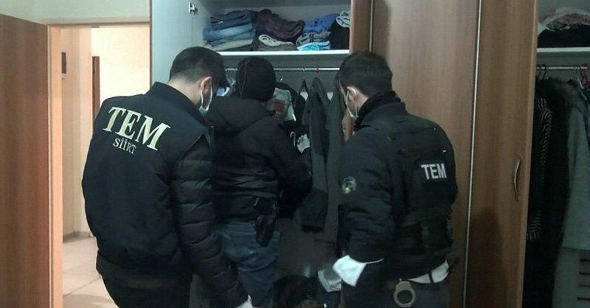 Siirt merkezli 5 ilde FETÖ operasyonu: 14 gözaltı