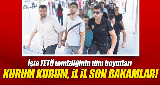 6 bin 488'i asker 31 bin 48 tutuklu