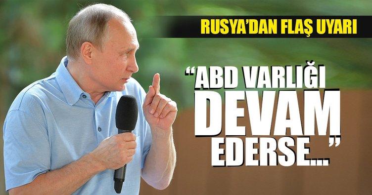 Rusya'dan ABD'ye flaş uyarı