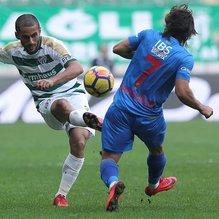 Bursaspor - Göztepe maçından gol sesi çıkmadı