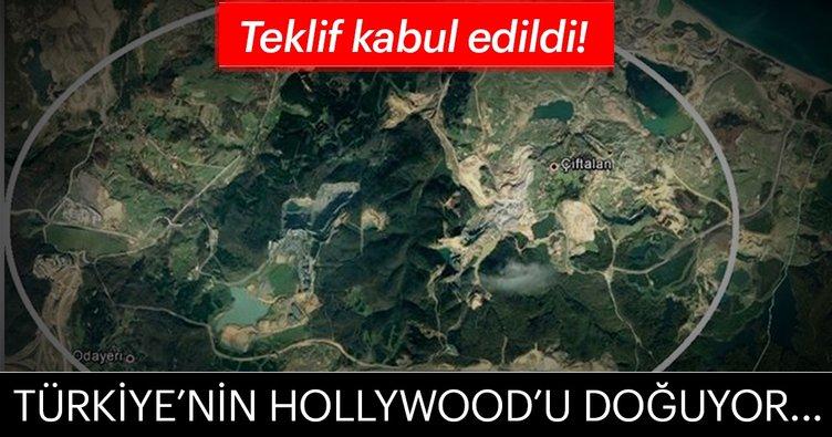 Teklif kabul edildi! Türkiye'nin Hollywood'u doğuyor...