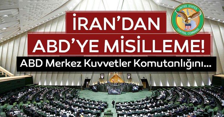 İran'dan ABD'ye misilleme! İran, CENTCOM'u terör örgütü listesine aldı