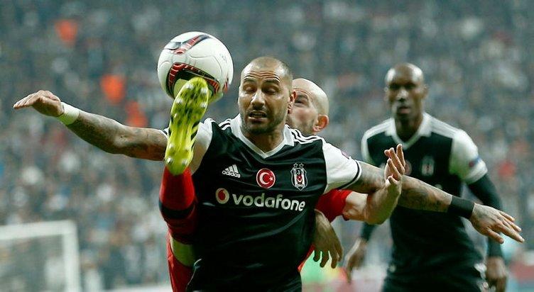 Beşiktaş-Lyon maçından kareler