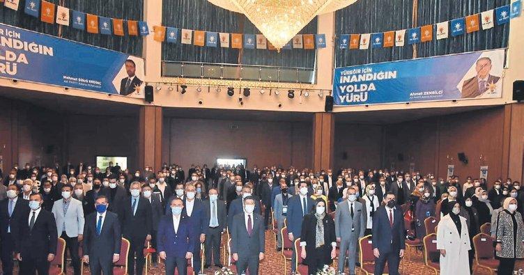 AK Parti Adana'da ilçe kongreleri tamamlandı