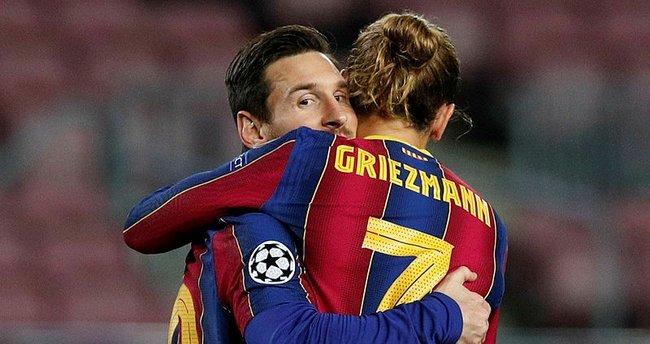 Barcelona'da Lionel Messi kalıyor Antoine Griezmann gidiyor!
