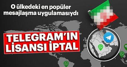 İran, ülkedeki en popüler uygulama olan Telegram'ın lisansını iptal etti
