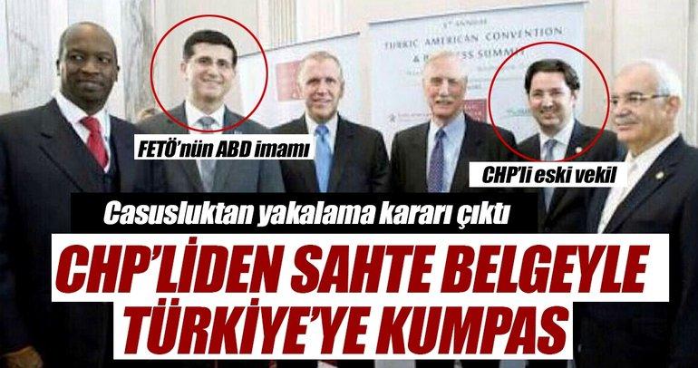 Türkiye'ye sahte belgeyle kumpas