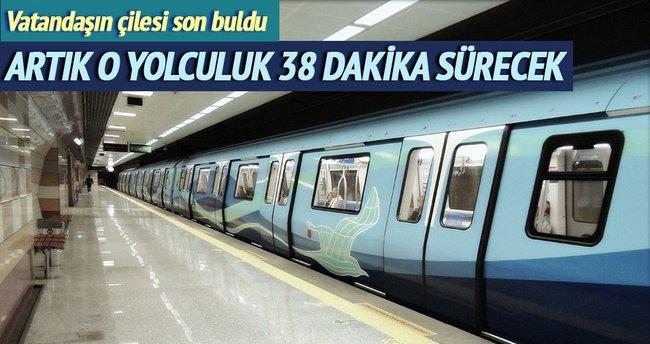 Pendik-Kadıköy artık 38 dakika