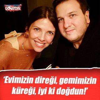 Selin Gökbakar: 'Evimizin direği, gemimizin küreği, iyi ki doğdun!'