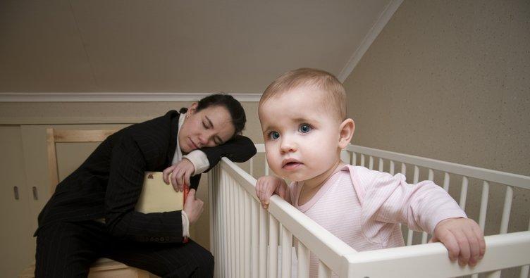Bebeğiniz uyumuyorsa yorgun olabilir