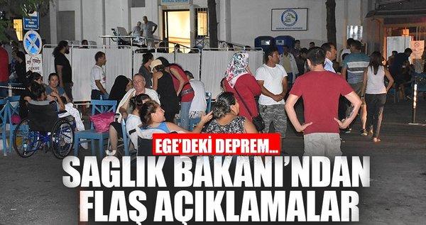 Sağlık Bakanı Demircan: Bu büyük depremi az hasarla atlattık