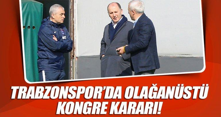 Trabzonspor olağanüstü kongre kararı aldı!