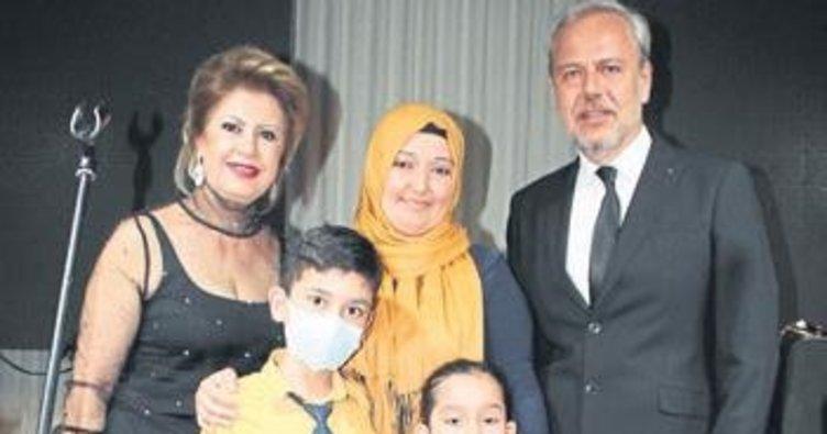 Hasta çocuk evi 12 yaşını kutladı