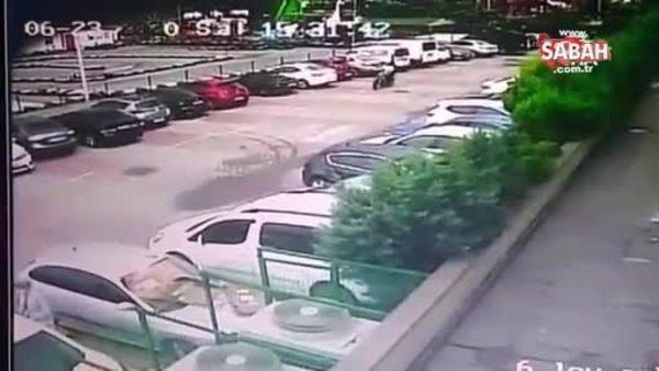 Acemi hırsız dakika dakika güvenlik kamerasına yansıdı | Video