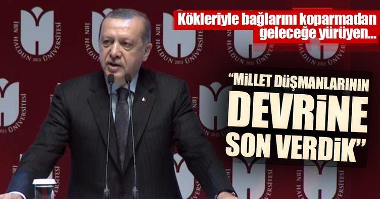 Cumhurbaşkanı Erdoğan: Milleti aşağılayanların devrine son verdik
