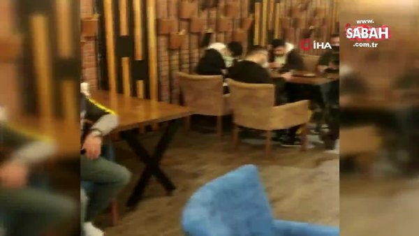 Bağcılar'da kahvehanelere korona virüs baskını | Video