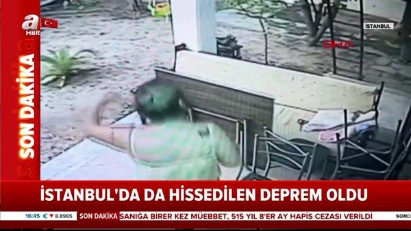 Son dakika haberi: İstanbul'da korkutan 4.2'lik deprem | Video