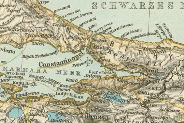 Geçmişten günümüze İstanbul haritaları