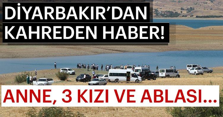 Son Dakika: Diyarbakır'da baraj gölüne giren 4 kişiden 2'si boğuldu