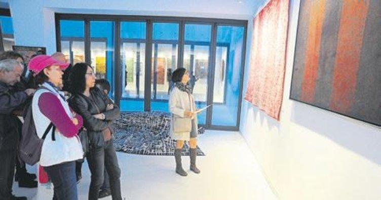 'Tapestri' sergisi açıldı
