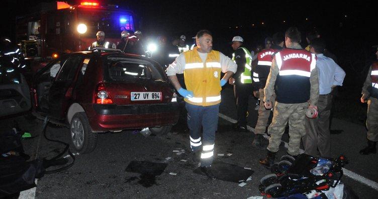 Gaziantep'te zincirleme trafik kazası: 5 ölü, 6 yaralı (2)- Yeniden