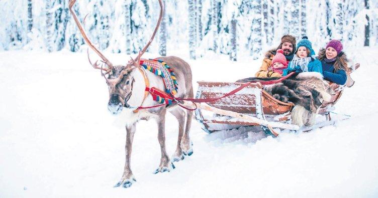 Kış tatilinin en beyaz adresi Laponya