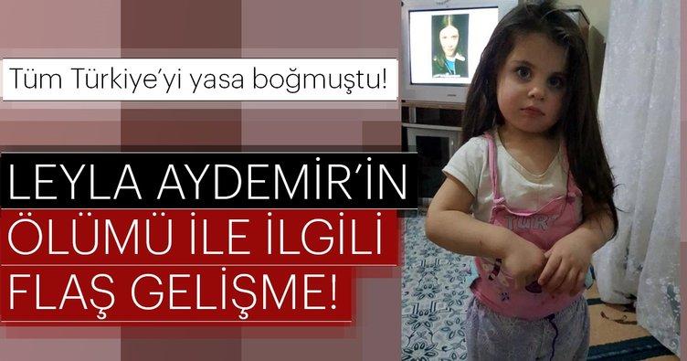 Ağrı'da ölü bulunan 4 yaşındaki Leyla Aydemir'in ölümü ile ilgili yeni gelişme!