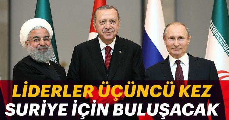 Liderler üçüncü kez Suriye için buluşacak