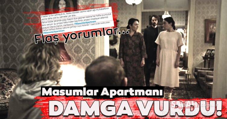 Masumlar Apartmanı 6.son bölümde final sahnesi şoke etti! Masumlar Apartmanı son bölüm sosyal medyayı salladı!