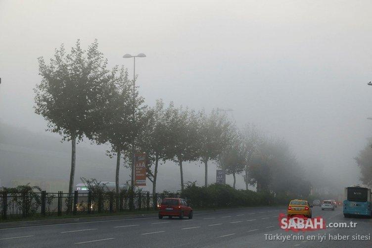 Meteoroloji gece saatlerinde etkili olacak sis konusunda uyardı! MGM 17 Kasım il il hava durumu tahminleri burada