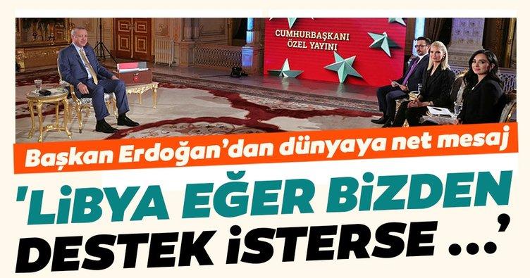 Başkan Erdoğan'dan dünyaya net mesaj