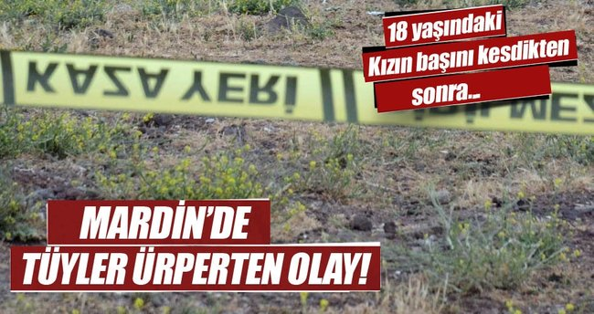 Mardin'de korkunç cinayet: Yakmaya çalışırken...
