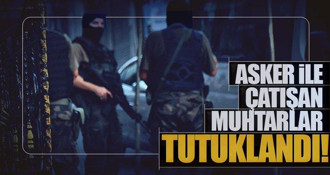 Muş'ta PKK operasyonunda 2'si muhtar 3 tutuklama