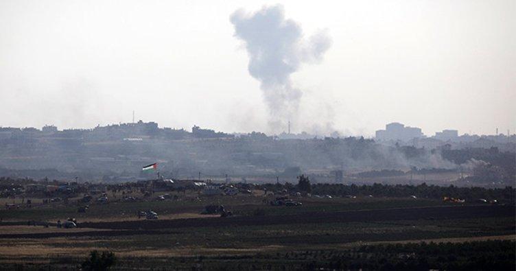 İsrail'den Gazze'ye roket saldırısı