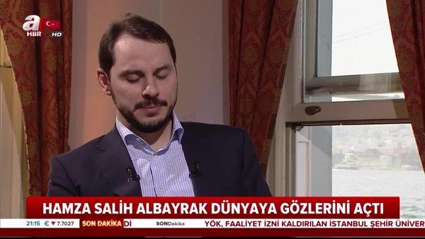 4. kez baba olan Bakan Albayrak'tan teşekkür paylaşımı | Video
