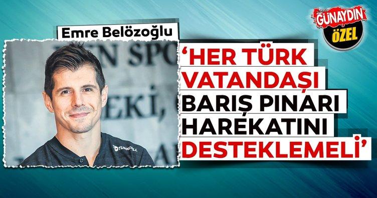 Emre Belözoğlu: Devletimizin desteği olmasa kulüpler ayakta durmakta zorlanırdı
