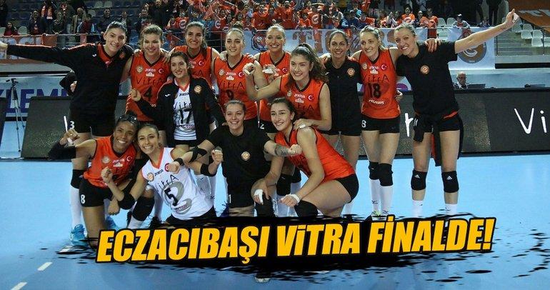 Eczacıbaşı VitrA CEV Kadınlar Kupası'nda finalde
