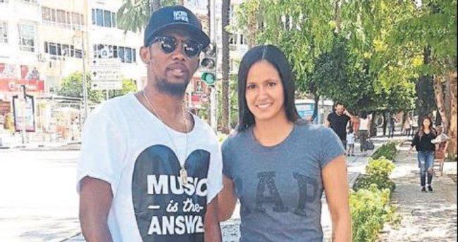 Andrade idolüyle Antalya'da buluştu