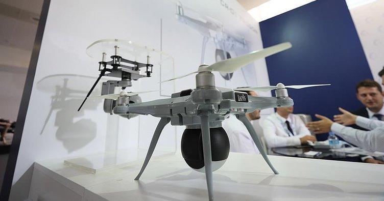 Yerli 'akıllı drone' geliştirildi
