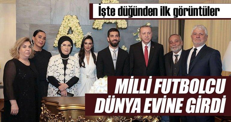 Milli futbolcu Arda Turan dünya evine girdi