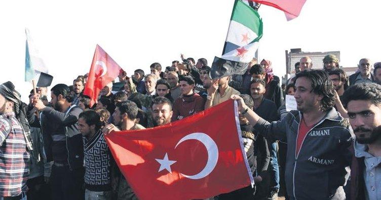 İdlib'de halkın umudu yine Türkiye