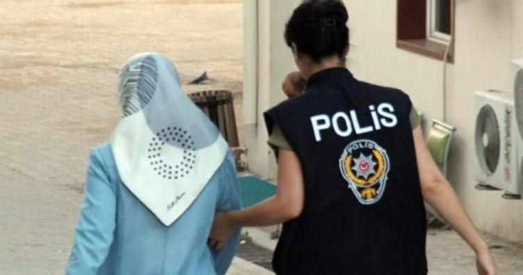 Konya'da FETÖ/PDY operasyonu! 3 kadın gözaltında