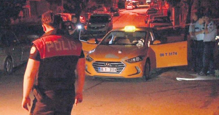 Takside şüphe uyandıran pompalı cinayet teşebbüsü